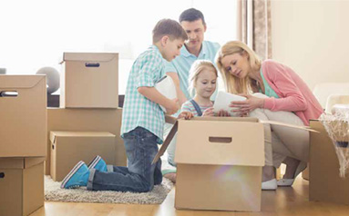 Moving into your property