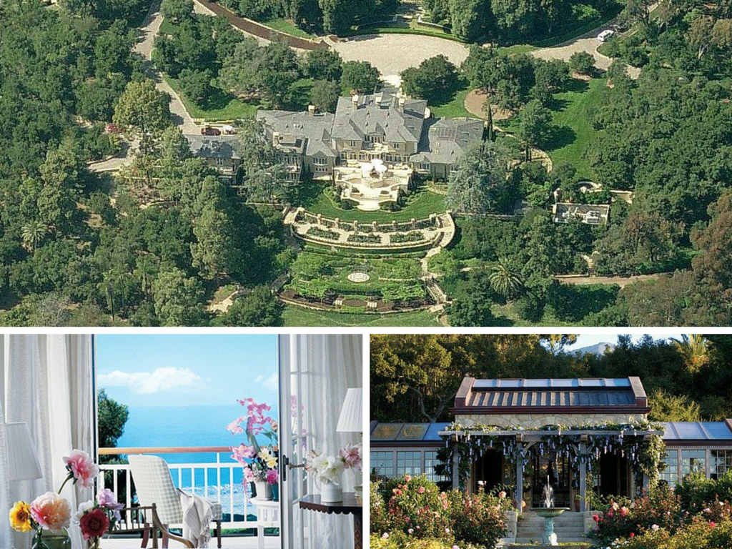 The most expensive celebrity mansions around the world for Mansions around the world